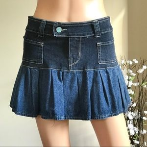 Hard Tail Micky Hipster Mini Skirt Cute and Casual